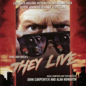 John Carpenter альбом They Live - Expanded Original Motion Picture Soundtrack 20th Anniversary Edition