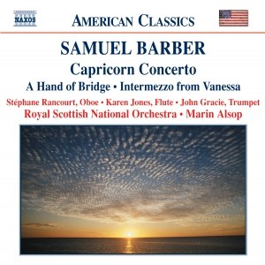 Samuel Barber альбом BARBER: Capricorn Concerto / A Hand of Bridge / Canzonetta / Intermezzo