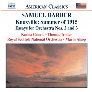 Samuel Barber альбом BARBER: Knoxville: Summer of 1915 / Essays for Orchestra Nos. 2 and 3