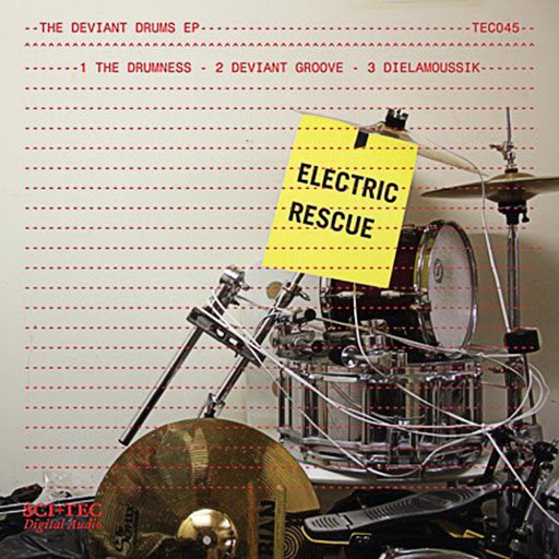 Альбом Electric Rescue The Deviant Drums EP