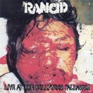 Rancid альбом Live at the Hollywood Palladium