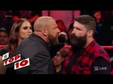 Топ-10 моментов с RAW 13.03.2017
