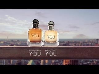 Музыка из рекламы Armani - Stronger With You & Because It's You (Matilda Lutz, James Jagger) (2017)