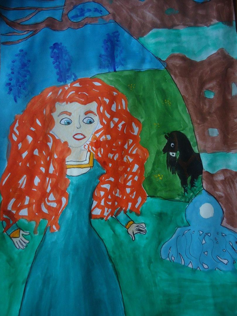 Конкурс рисунков в интернет магазине Магия кукол Мерида
