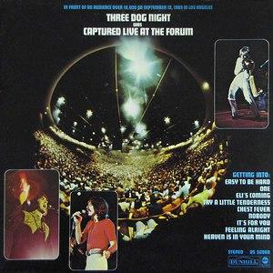 Three Dog Night альбом Captured Live At The Forum