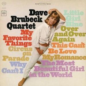 The Dave Brubeck Quartet альбом My Favorite Things