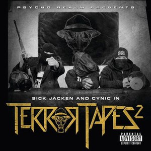 The Psycho Realm альбом Psycho Realm Presents Sick Jacken And Cynic In Terror Tapes 2