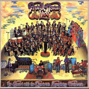 Procol Harum альбом Live in Concert with the Edmonton Symphony Orchestra
