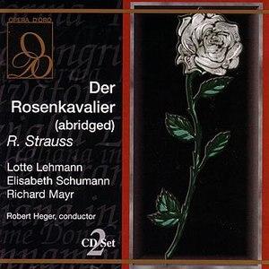 Richard Strauss альбом Der Rosenkavaliar (abridged)