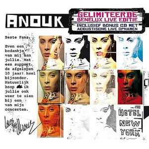 Anouk альбом Hotel New York Live Edition