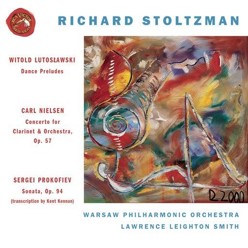 Richard Stoltzman альбом Clarinet Concertos