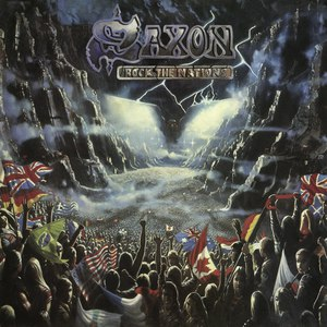 Saxon альбом Rock The Nations