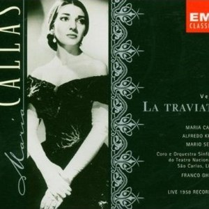 Giuseppe Verdi альбом La Traviata (Maria Callas) (Disc 1)