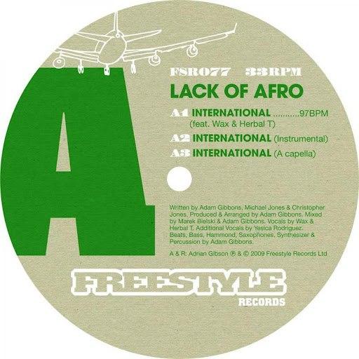 Lack Of Afro альбом International