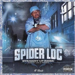 SPIDER LOC альбом Straight Up Rider