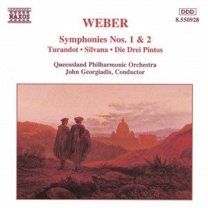 Carl Maria Von Weber альбом WEBER: Symphonies Nos. 1 and 2 / Turandot Overture / Silvana