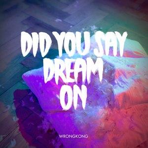 Wrongkong альбом Did You Say Dream On