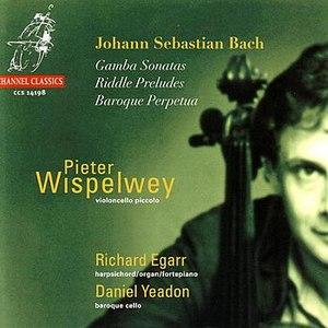 Pieter Wispelwey альбом J.S. Bach: Gamba Sonatas