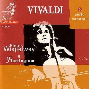 Pieter Wispelwey альбом Vivaldi: 6 Cello Sonatas