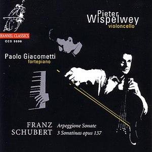 Pieter Wispelwey альбом Schubert: Arpeggione Sonate, 3 Sonatinas Opus 137
