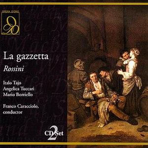 Gioacchino Rossini альбом La gazzetta