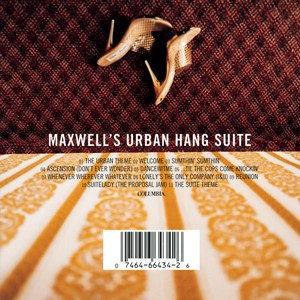 Maxwell альбом Maxwell's Urban Hang Suite