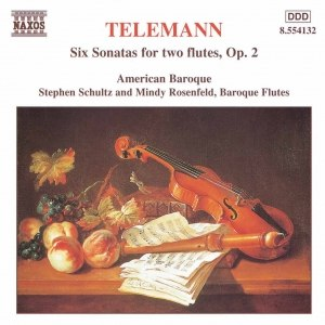 GEORG PHILIPP TELEMANN альбом TELEMANN: 6 Sonatas for Two Flutes without Bass