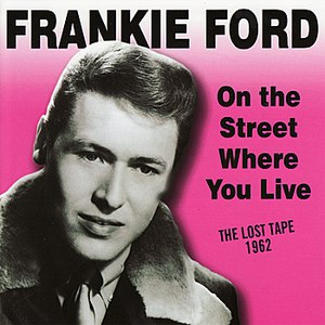 Frankie Ford альбом On The Street Where You Live