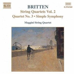 Benjamin Britten альбом BRITTEN: String Quartets No. 3 / Simple Symphony