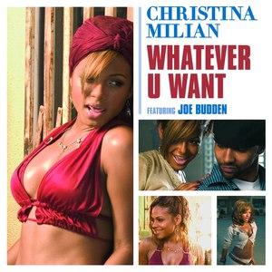 Christina Milian альбом Whatever U Want