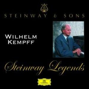 Wilhelm Kempff альбом Steinway Legends: Wilhelm Kempff