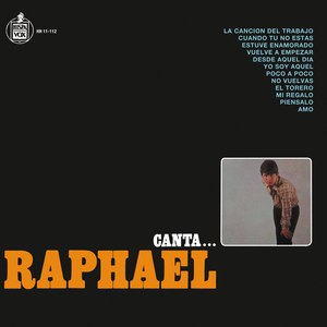 Raphael альбом Canta...Raphael
