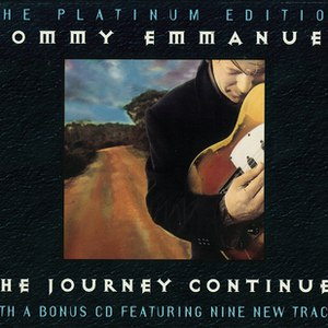 Tommy Emmanuel альбом THE JOURNEY CONTINUES