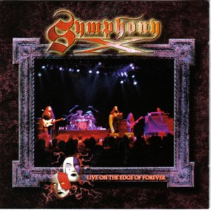 Symphony X альбом Live On The Edge Of Forever