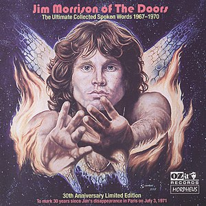 Jim Morrison альбом The Ultimate Collected Spoken Words 1967-1970