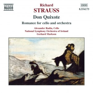 Richard Strauss альбом STRAUSS, R.: Don Quixote / Romance for Cello and Orchestra
