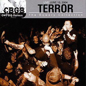 Terror альбом CBGB OMFUG Masters:Live, June 10, 2004 - The Bowery Collection