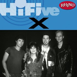 X альбом Rhino Hi-Five: X