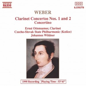 Carl Maria Von Weber альбом WEBER: Clarinet Concertos Nos. 1 and 2