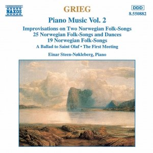 Edvard Grieg альбом GRIEG: Norwegian Folk Songs and Dances, Op. 17 and Op. 66