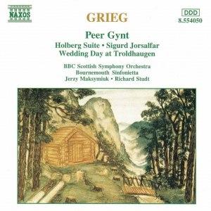 Edvard Grieg альбом GRIEG: Orchestral Music