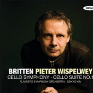 Pieter Wispelwey альбом Britten: Cello Symphony; Cello Suite No.1