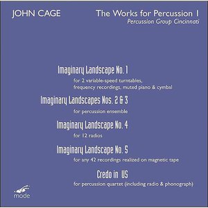 John Cage альбом The Works for Percussion I