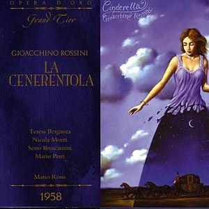 Gioacchino Rossini альбом La cenerentola