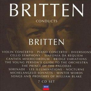 Benjamin Britten альбом Britten conducts Britten Vol.4