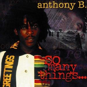Anthony B альбом So Many Things