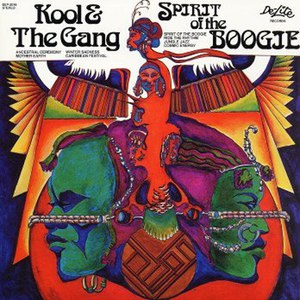 Kool & The Gang альбом Spirit Of the Boogie
