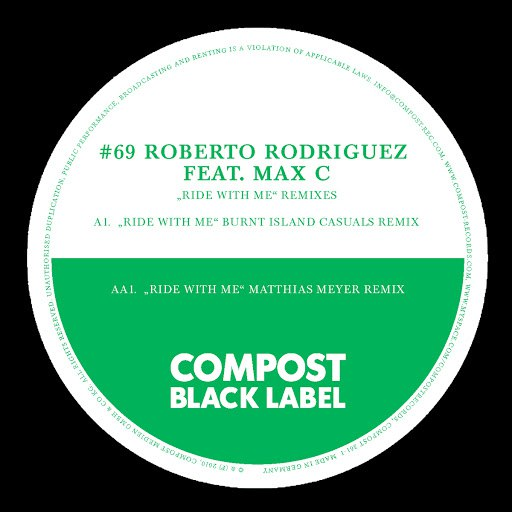 Roberto Rodriguez альбом Black Label #69 Ride With Me Remixes