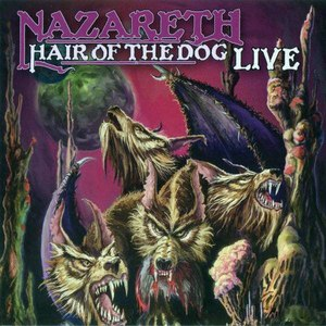 Nazareth альбом Hair Of The Dog (Live)