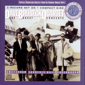 The Dave Brubeck Quartet альбом The Great Concerts...Amsterdam, Copenhagen, Carnegie Hall